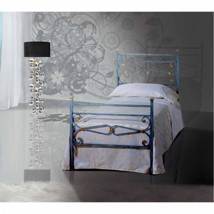 Łóżko pojedyncze w kute Topaz