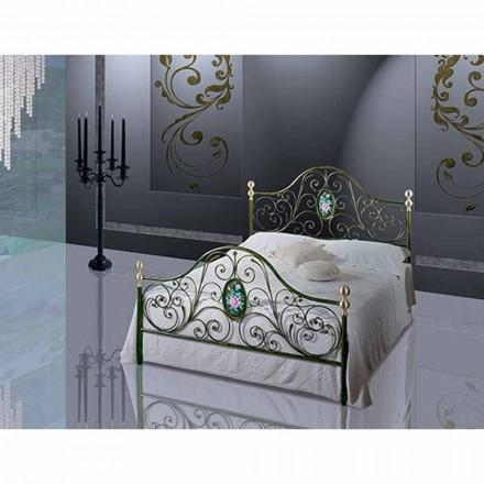 Łóżko i pół Plac Kute Turquoise