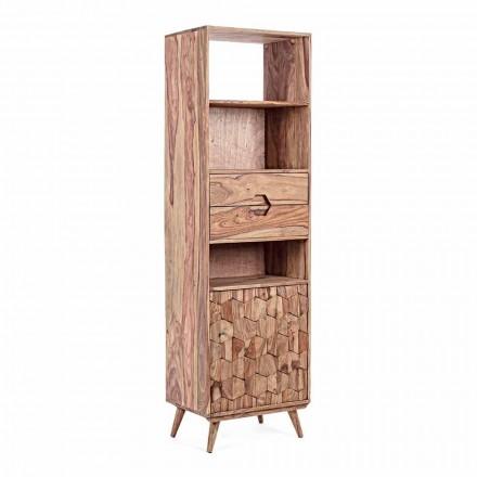 Regał podłogowy z drewnianą konstrukcją Vintage Homemotion - Ventador