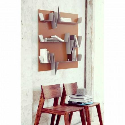 Biblioteczka 90x127 Battikuore (3 półki) Mabele
