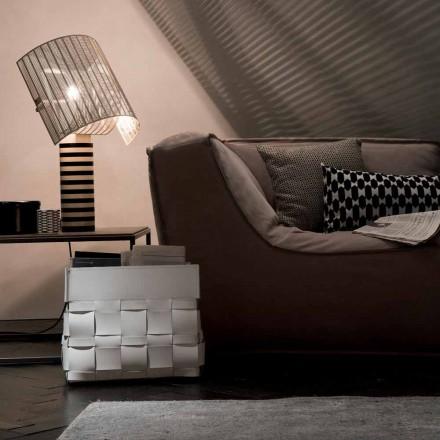 Lory design naścienny stojak na gazety, wyprodukowany we Włoszech