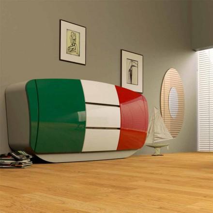 Kredens design wykonany całkowicie we Włoszech, Madia-Boom