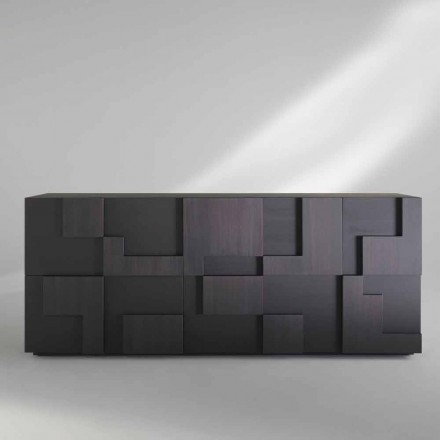 Kredens nowoczesny drewno modrzewiowe model Azalea