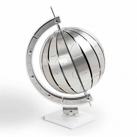 World design table globe World, made in Italy
