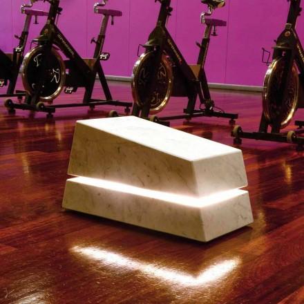 Lampa z kamienia naturalnego z dyfuzorem dźwięku Minimal, Sound