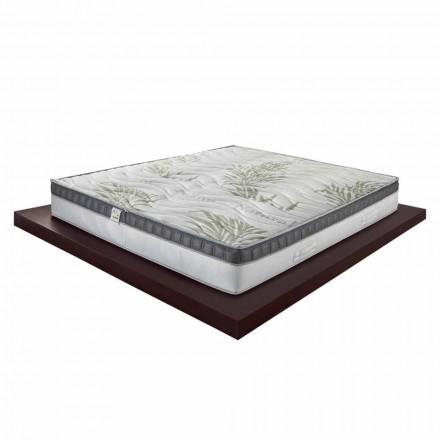 Luksusowy materac podwójny z pamięcią o wysokości 25 cm Made in Italy - Idea