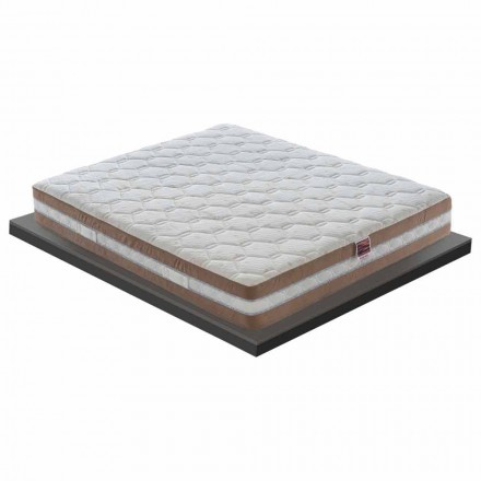 Wysokiej jakości materac pamięci 25 cm Made in Italy - Charcoal