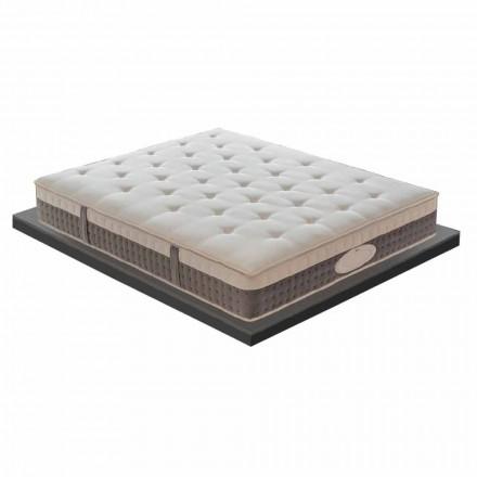 Jednoosobowy materac doskonałej jakości H 25 cm Wyprodukowano we Włoszech - Silvestro