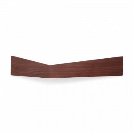 Zaprojektuj półkę ścienną ze sklejki i metalu z wieszakiem na ubrania - Berema