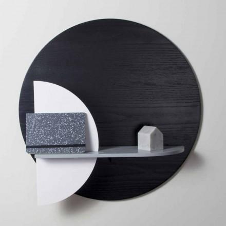 Zaprojektuj półkę z lakierowanej wielowarstwowej składającej się z paneli modułowych - Livia