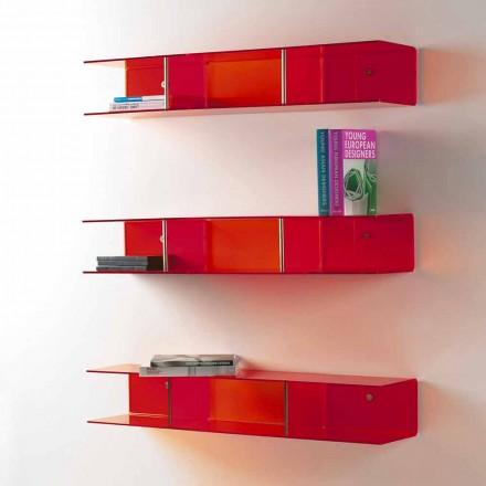 Półka ścienna design z metakrylanu model Taira
