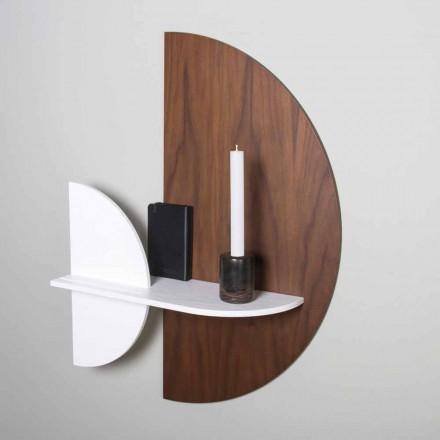 Półka modułowa Elegancki i nowoczesny design z malowanej sklejki - Amnesia