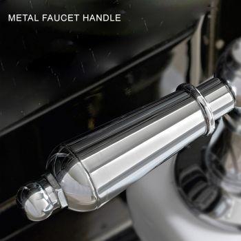 Bateria bidetowa w stylu klasycznym z ręcznie robionego mosiądzu z dźwignią - Noriana