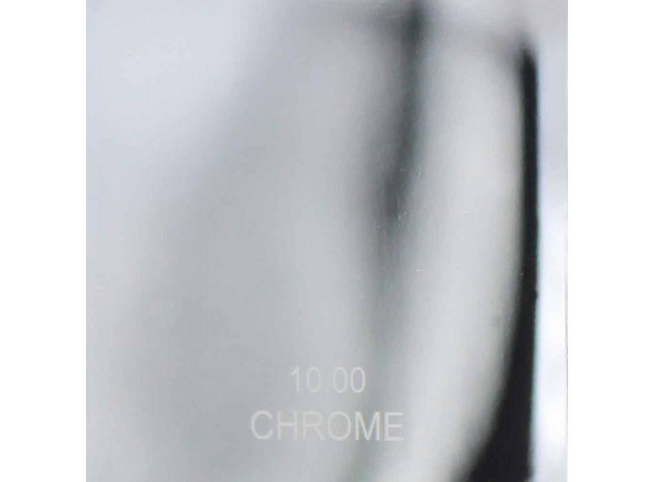 Bateria umywalkowa z mosiądzu chromowanego lub kolorowego Made in Italy - Sophie
