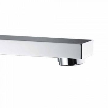 Bateria umywalkowa łazienkowa z wylewką, odległość między środkami 170 mm Made in Italy - Medida