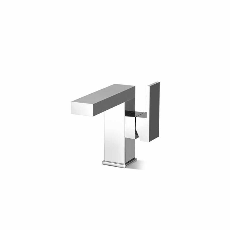Bateria umywalkowa łazienkowa z dźwignią boczną, wzornictwo Made in Italy - Panela
