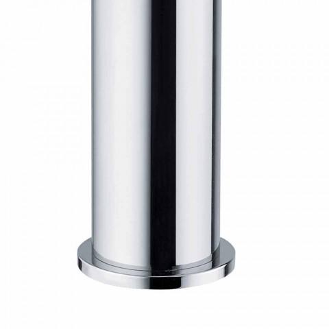 Bateria umywalkowa do łazienki z chromowanego mosiądzu, nowoczesny design Made in Itlay - Liro