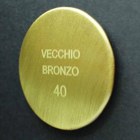 Designerska bateria do prysznica zewnętrznego z mosiądzu Made in Italy - Neno