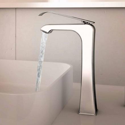 Made in Italy Design Bateria umywalkowa z chromowanego mosiądzu - Bonina