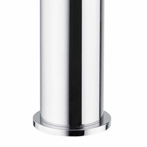 Bateria umywalkowa z mosiądzu Wykończenie chromowane Made in Italy - Ermia