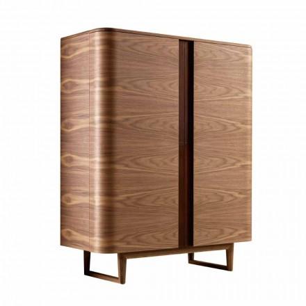 Szafka barowa z litego drewna 2drzwiowa Grilli York made in Italy