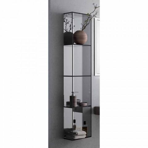 4-komorowa szafka łazienkowa, L300x H1400 mm, Adelia