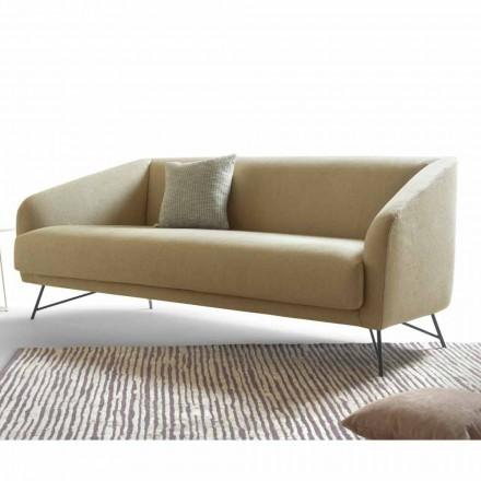Sofa z aksamitu nowoczesny design My Home Twiggy made in Italy