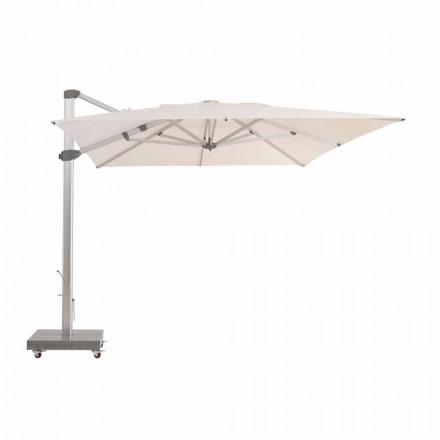 Wodoodporny parasol zewnętrzny 3x4 z aluminiowym słupkiem - Zeus firmy Talenti