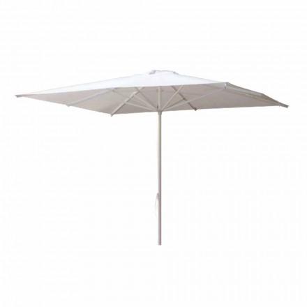 Parasol ogrodowy z tkaniny akrylowej i aluminium Made in Italy - Solero