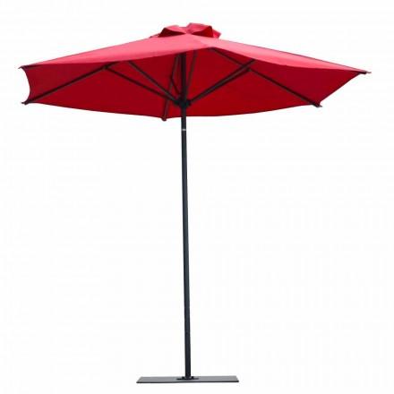 Luksusowa tkanina i aluminiowy parasol ogrodowy Made in Italy - Meridio