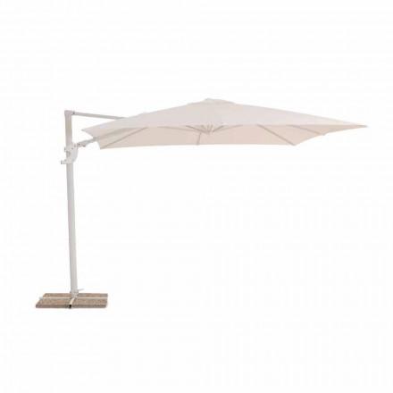 Parasol ogrodowy, wodoodporny wzór tkaniny 3x3 - Vulcano firmy Talenti