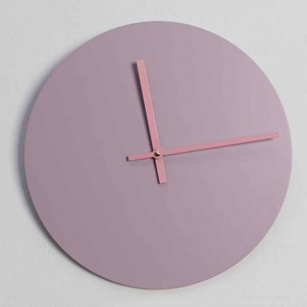Okrągły drewniany zegar ścienny Made in Italy - Imalia