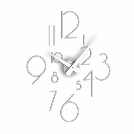 Nowoczesny zegar ścienny Marte Big, wyprodukowany we Włoszech