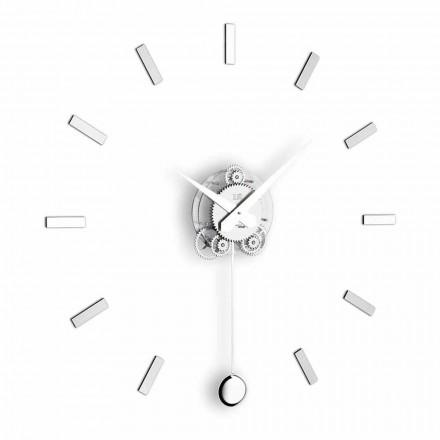 Zegar na ścianę design Baba Pendolo