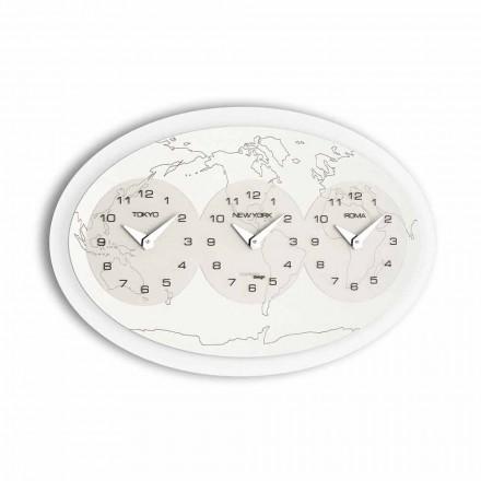 Zegar na ścianę design model Zed