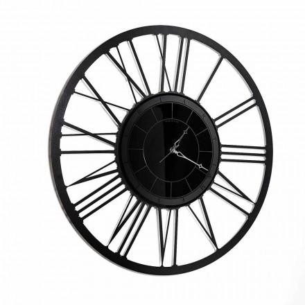 Zegar ścienny z żelaznym lustrem w stylu nowoczesnym Made in Italy - Gioele
