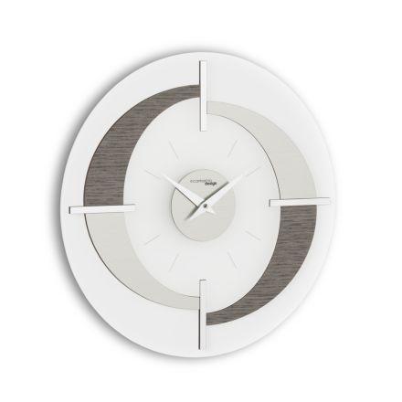 Nowoczesny zegar ścienny Giove, wykonany we Włoszech