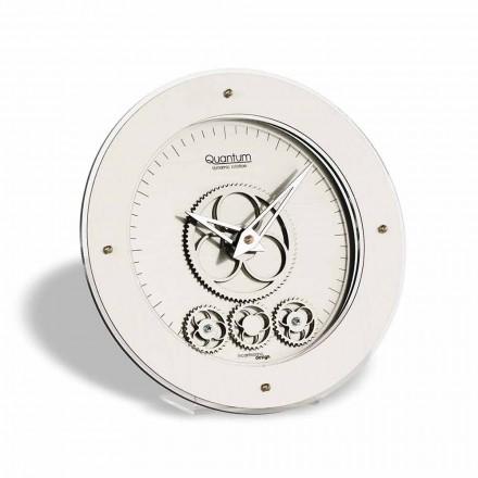 Zegar stołowy design model Atlantico okrągły