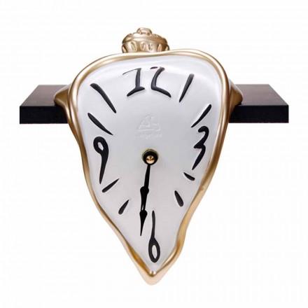 Zegar stołowy z żywicy z mechanizmem kwarcowym Made in Italy - Cate