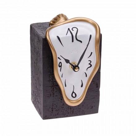 Nowoczesny zegar stołowy z mechanizmem kwarcowym Made in Italy - Figaro
