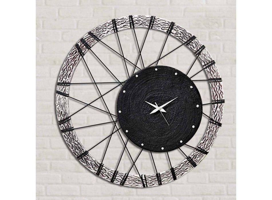 Nowoczesny zegar ścienny Amalfi od Viadurini Decor