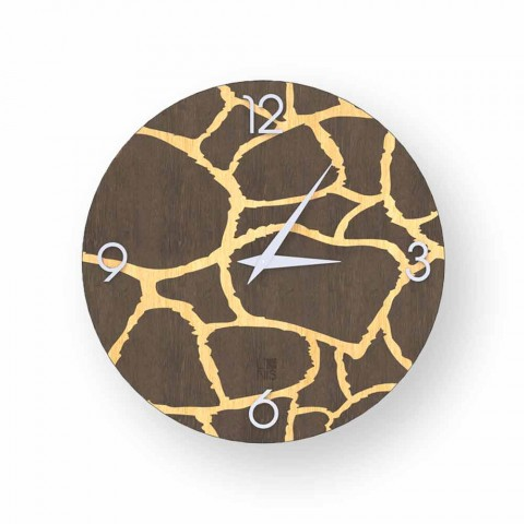 Zegar ścienny Acri w nowoczesnym stylu, wykonany we Włoszech