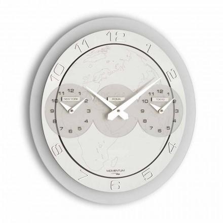 Zegar design ścienny Dininho Tris