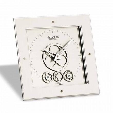 Zegar stołowy design model Atlantico kwadratowy