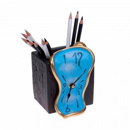 Ołówkowy zegar stołowy Made in Italy - Figaro
