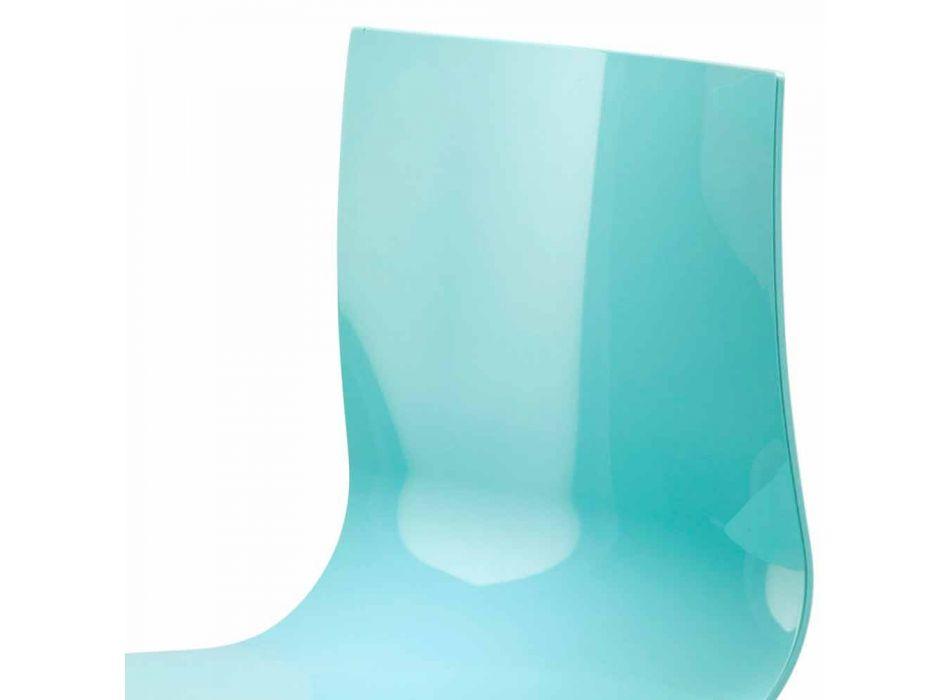 3-osobowa ławka biurowa ze stali i kolorowego technopolimeru z recyklingu - Verenza