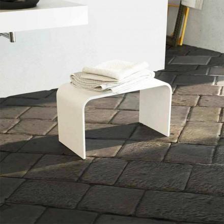Nowoczesna, długa ławka do kąpieli wyprodukowana w 100% we Włoszech Recanati
