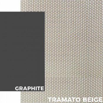 Aluminiowy i tekstylny parasol przeciwsłoneczny - Danube