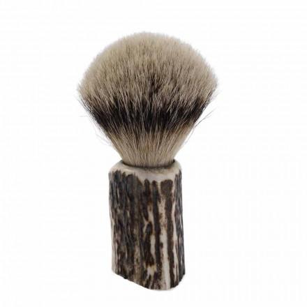 Ręcznie robiony pędzel do golenia z włosia borsuka Made in Italy - Euforia