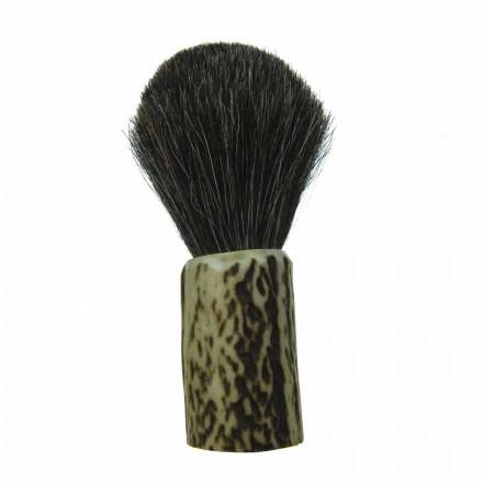 Ręcznie robiony pędzel do golenia z włosiem z włosia końskiego Made in Italy - Euforia